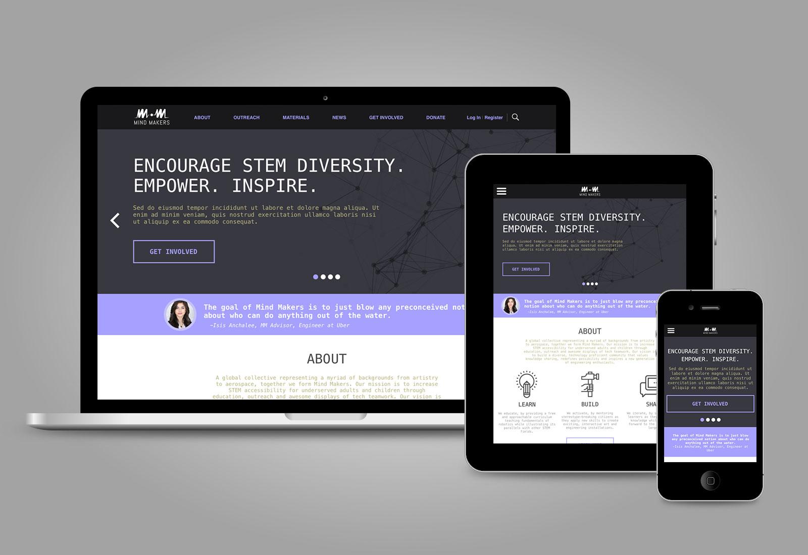 Mind Makers Website Refresh