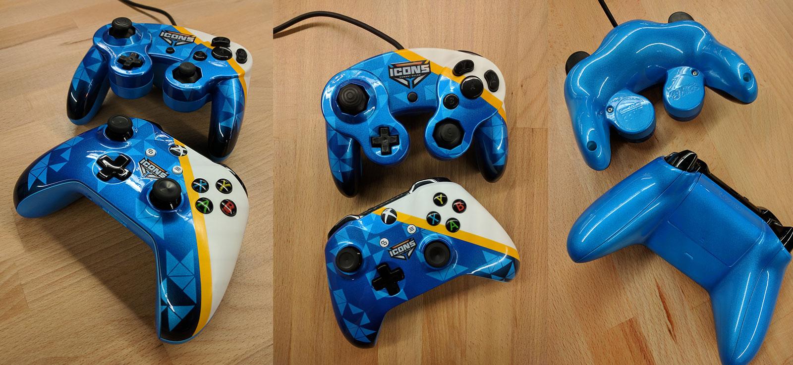 Icons Combat Arena Custom Controllers