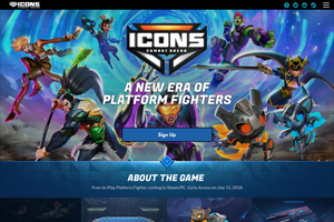 Icons Website